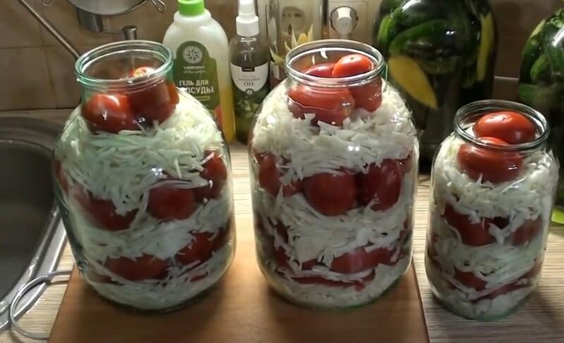 распределяем помидоры