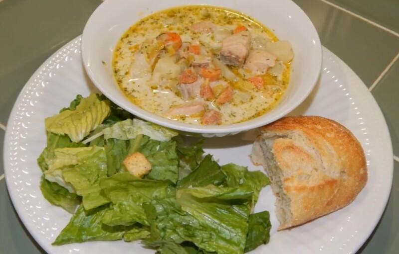 Финский сливочный суп с лососем — классический рецепт приготовления «Лохикейтто»