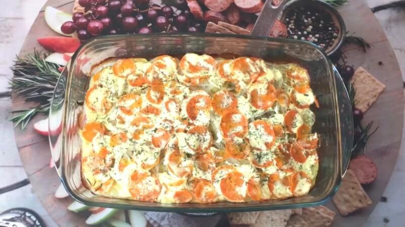 Рецепт сочной и мягкой горбуши в духовке с картошкой