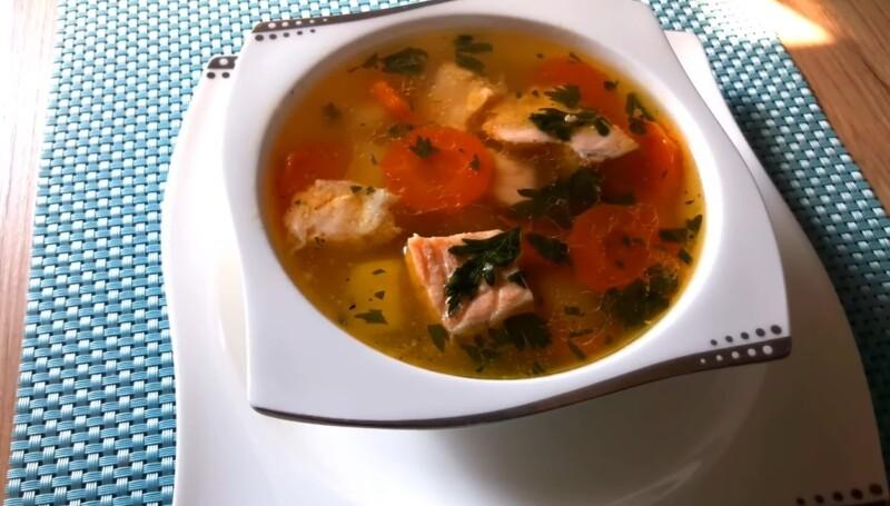 Рецепт супа из красной рыбы — просто и вкусно