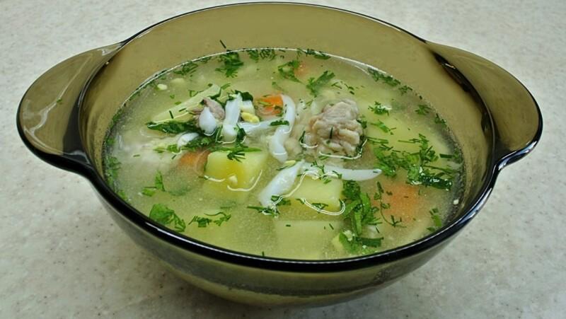 Рыбный суп из головы толстолобика