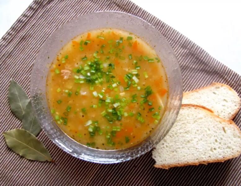 Рыбный суп из консервов горбуши — простой рецепт приготовления
