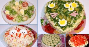 Простые и вкусные салаты на Новый год 2021 — рецепты безумно вкусных салатов