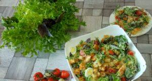Салат Цезарь с курицей — 15 классических рецептов
