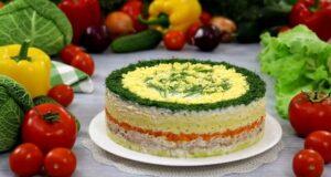 Салат «Мимоза» с рыбными консервами 13 классических рецептов