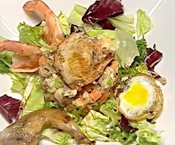 Очень вкусный салат Оливье — настоящий французский рецепт