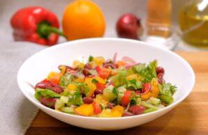 Cалат с фасолью консервированной — 18 простых и вкусных рецептов