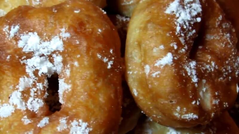 Дрожжевые пончики на воде — самый быстрый рецепт