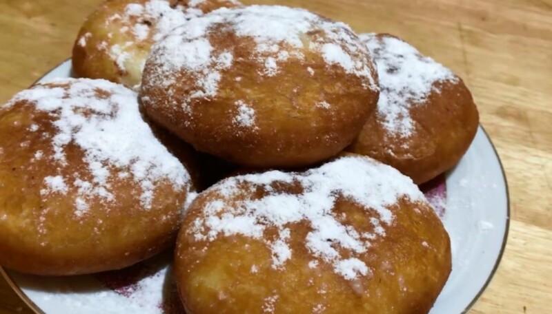 Ереванские пончики с заварным кремом по классическому рецепту