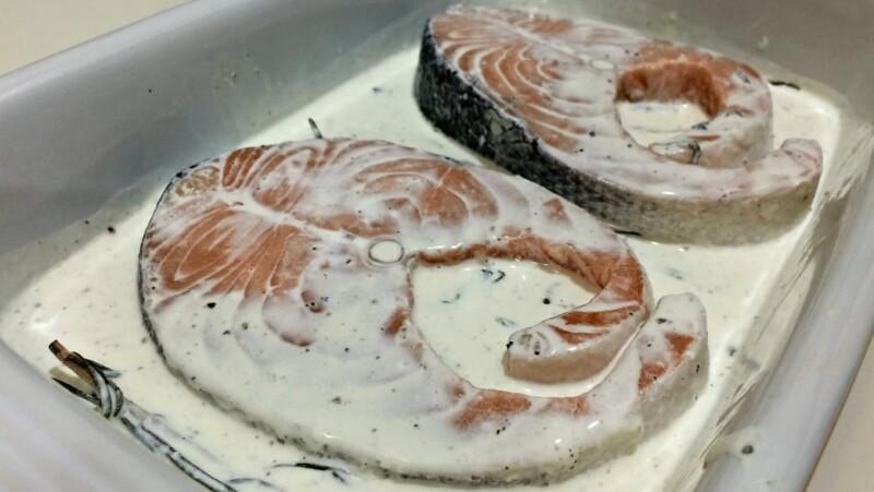 Как приготовить сочные и мягкие стейки кеты в духовке в фольге