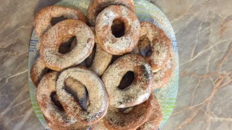 Пышные пончики на сметане — пошаговый рецепт с фото