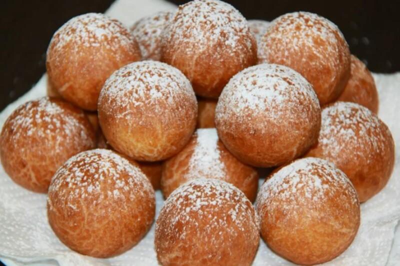 Творожные пончики жареные в масле — вкуснятина из детства за 10 минут