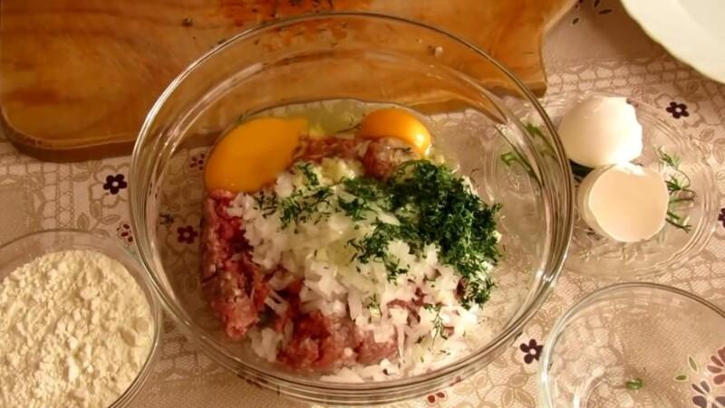 добавить зелень и яйцо