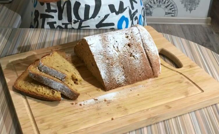 Пасхальный кулич в хлебопечке Redmond (Редмонд)