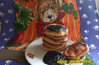 Пышные оладьи на кефире без дрожжей — лучший пошаговый рецепт на 500 мл. кефира