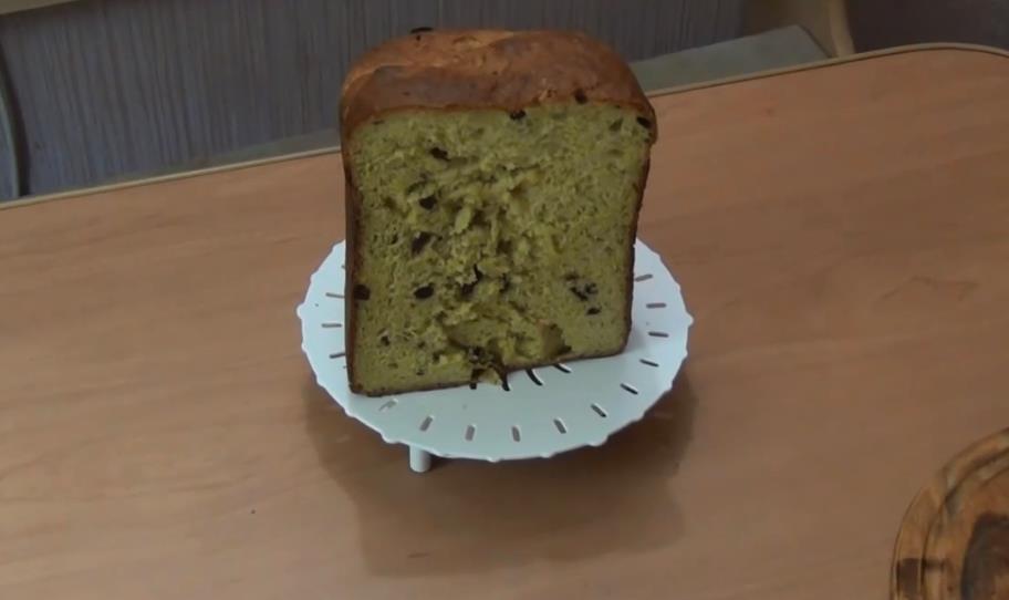 Творожный кулич в хлебопечке Панасоник (Panasonic)