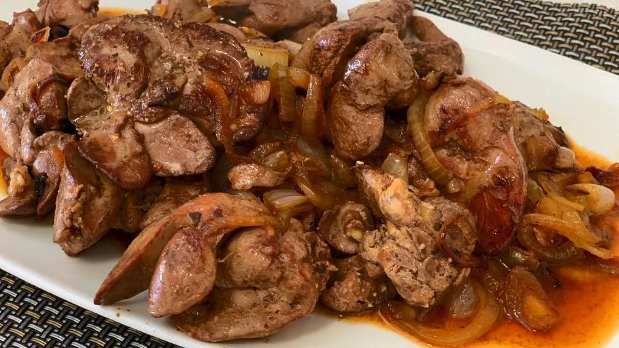 Как приготовить (пожарить) куриную печень, чтобы была мягкая и сочная