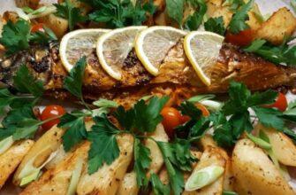 Скумбрия в духовке — 14 самых вкусных рецептов запеченной рыбы (быстро и вкусно)