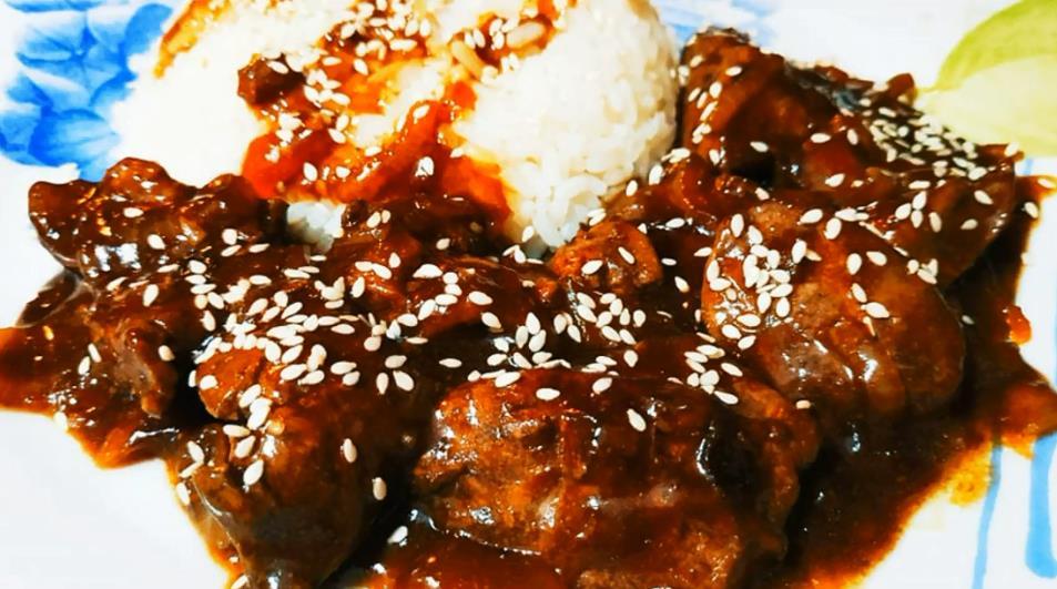Вкусный рецепт куриной печени по-китайски с овощами