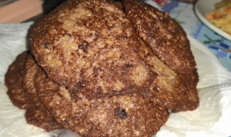 Печеночные котлеты из куриной печени для детей (как в детском садике)
