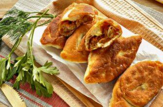 Пирожки с капустой жареные на сковороде. 12 пошаговых рецептов приготовления