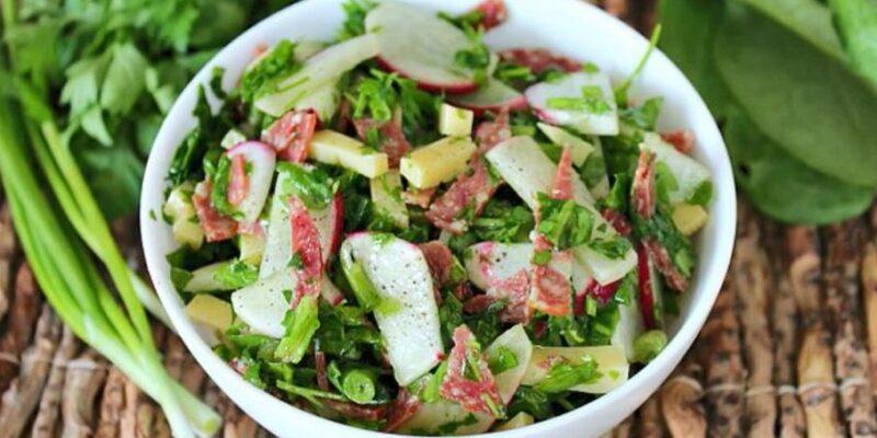 Салат из редиски. 20 самых вкусных и простых рецептов салатов с редиской на каждый день