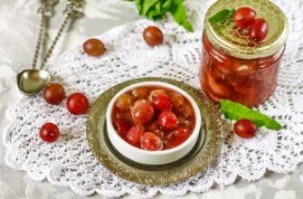 Варенье из крыжовника — 15 рецептов царского изумрудного варенья на зиму